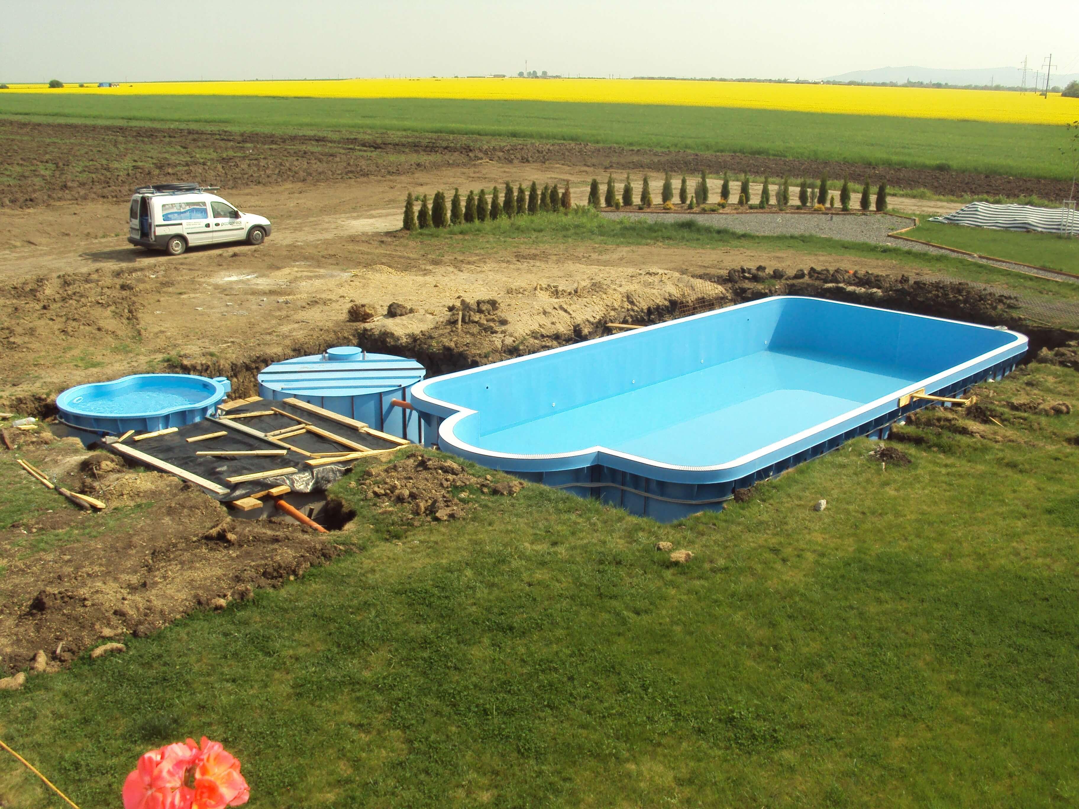 Piscine din polipropilena constructii piscine pool for Constructii piscine